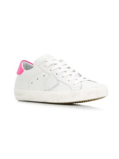 Philippe Model Sneakers Sneakers Ggdb Sneakers Common Projects White & Pink Athletic Image 2