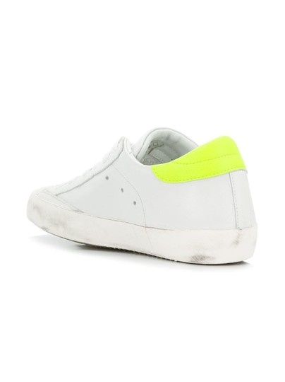Philippe Model Sneakers Sneakers Ggdb Sneakers Common Projects White & Yellow Athletic Image 2