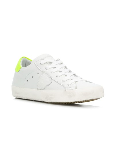 Philippe Model Sneakers Sneakers Ggdb Sneakers Common Projects White & Yellow Athletic Image 3