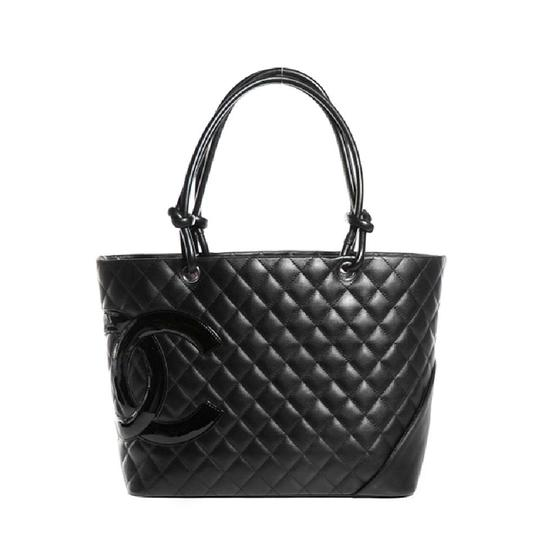 Preload https://img-static.tradesy.com/item/25462538/chanel-timeless-cambon-quilted-large-ligne-black-calfskin-leather-tote-0-0-540-540.jpg