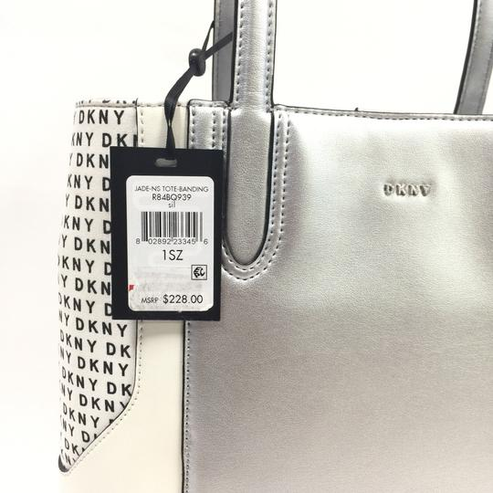 DKNY Tote in silver Image 5