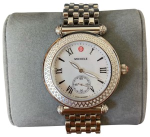 d53a7fdf1 Michele $1995 NWT Caber Mother Of Pearl & Diamond Watch MW16A000001