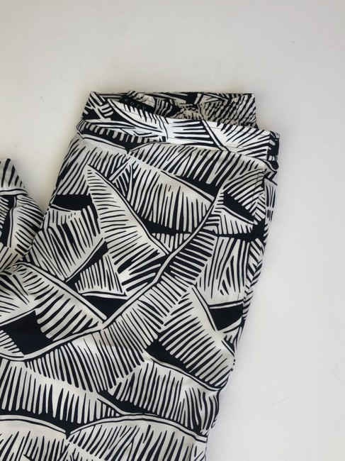 Theory Relaxed Pants black and white Image 2