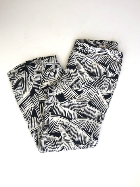 Theory Relaxed Pants black and white Image 3