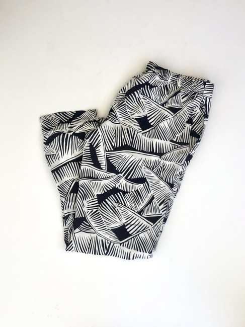 Theory Relaxed Pants black and white Image 4