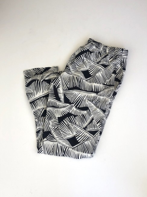 Theory Relaxed Pants black and white Image 5