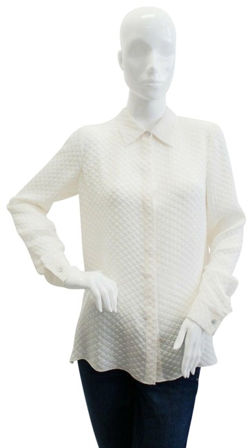Preload https://img-static.tradesy.com/item/25462641/elizabeth-and-james-ivory-rollins-blouse-button-down-top-size-8-m-0-1-650-650.jpg