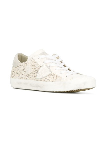 Philippe Model Sneakers Sneakers Ggdb Sneakers Common Projects White Athletic Image 1