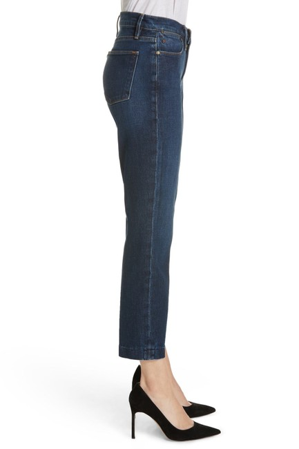 FRAME Denim Dark High Straight Leg Jeans Image 1
