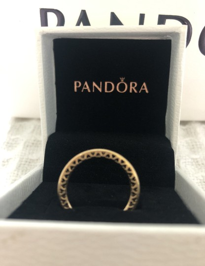 Pandora New with tags never worn Class Hearts 14kt yellow gold Image 4