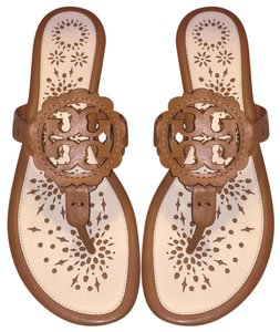 Tory Burch Tan/ New Cream Sandals