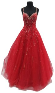 Mori Lee Prom Homecoming Ballgown Dress