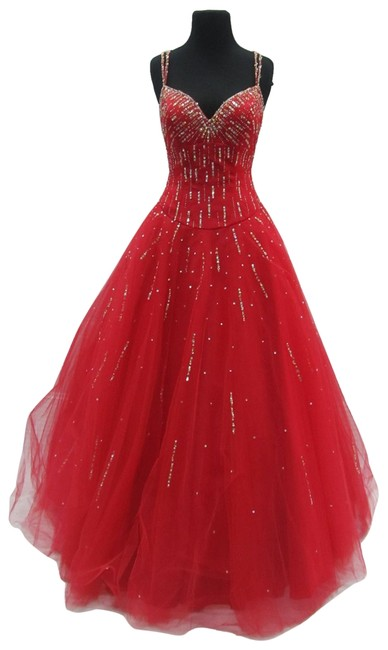 Mori Lee Prom Homecoming Ballgown Dress Image 0