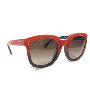 0e96fe8444ed Coach Coach Casey Hc 8047 509813 5098/13 Orange Blue Frame Brown Gradient  Lenses