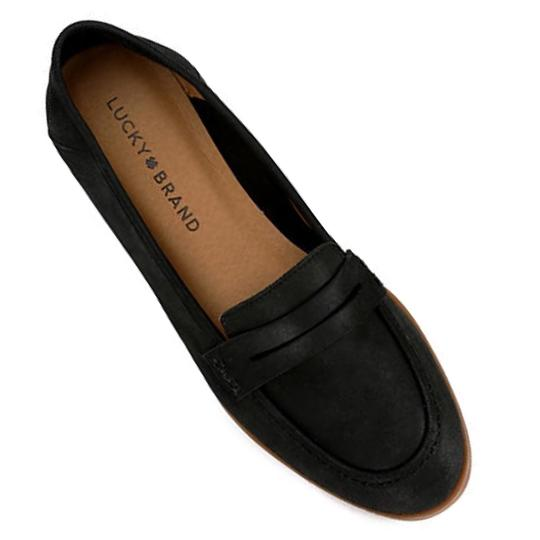 Lucky Brand Black Flats Image 3