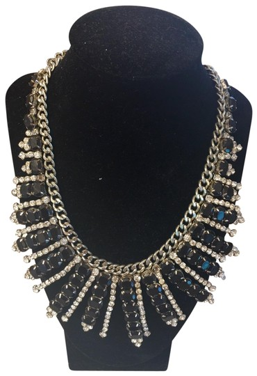 Preload https://img-static.tradesy.com/item/25463048/fallon-sliver-looking-and-black-forever-4vr-by-necklace-0-1-540-540.jpg