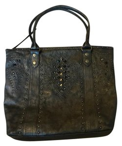 Frye Tote in Pewter