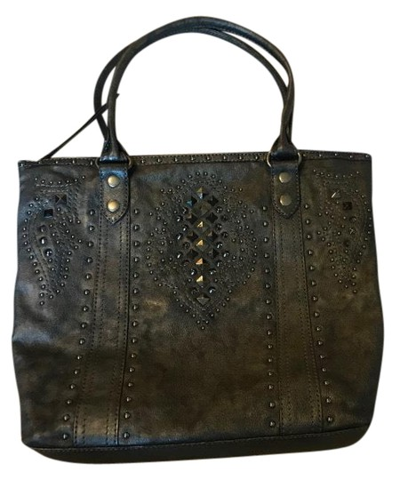 Preload https://img-static.tradesy.com/item/25463055/frye-bag-and-co-deco-stud-phoenix-pewter-tote-0-1-540-540.jpg
