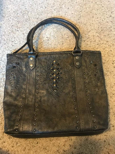 Frye Tote in Pewter Image 1
