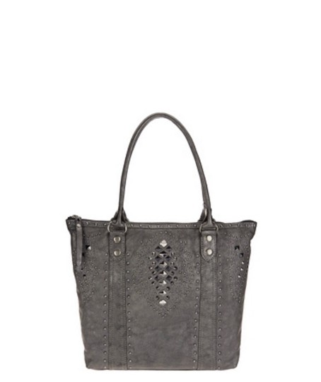 Frye Tote in Pewter Image 2