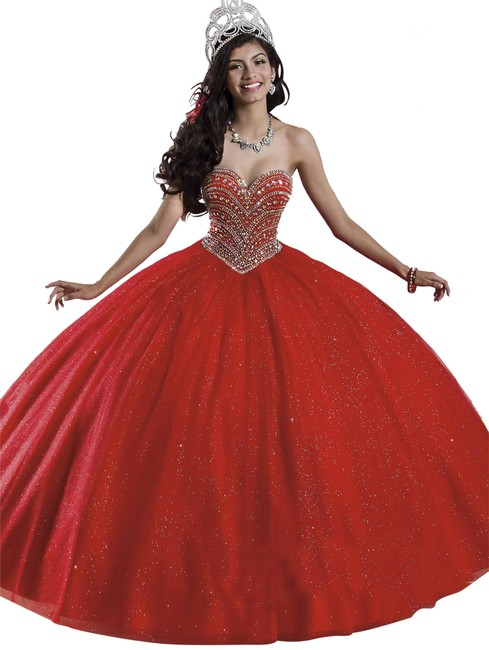 Preload https://img-static.tradesy.com/item/25463101/mary-s-bridal-red-4q408-princess-long-formal-dress-size-8-m-0-1-650-650.jpg
