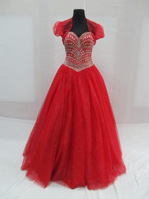 Mary's Bridal Princess Prom Quinceanera Ballgown Dress Image 1