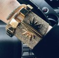 India Hicks NEW 12K Gold Plated Leticia Cuff Bracelet Image 1