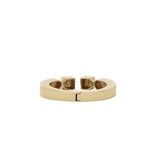 India Hicks NEW 12K Gold Plated Leticia Cuff Bracelet Image 10