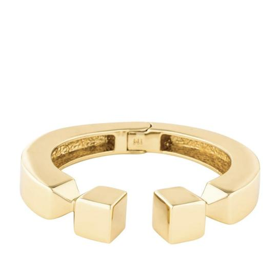 India Hicks NEW 12K Gold Plated Leticia Cuff Bracelet Image 9