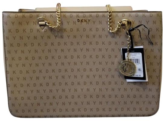 Preload https://img-static.tradesy.com/item/25463240/dkny-new-women-handbag-with-tag-beige-leather-satchel-0-1-540-540.jpg