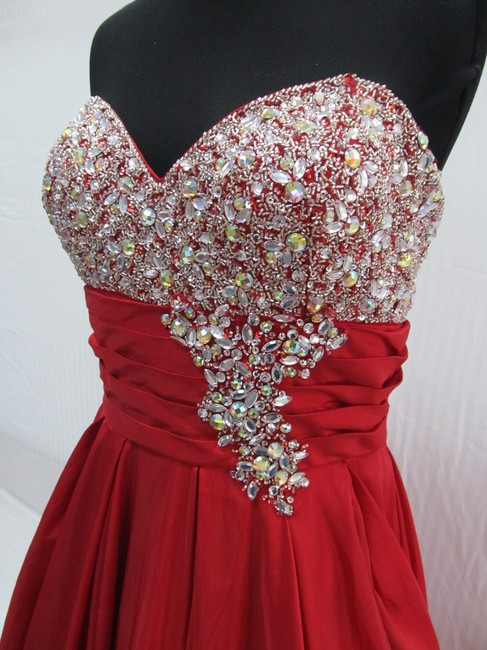 Mac Duggal Couture Prom Homecoming Pageant Ballgown Dress Image 4
