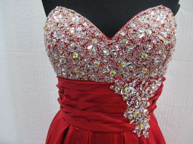 Mac Duggal Couture Prom Homecoming Pageant Ballgown Dress Image 5