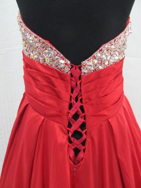 Mac Duggal Couture Prom Homecoming Pageant Ballgown Dress Image 6