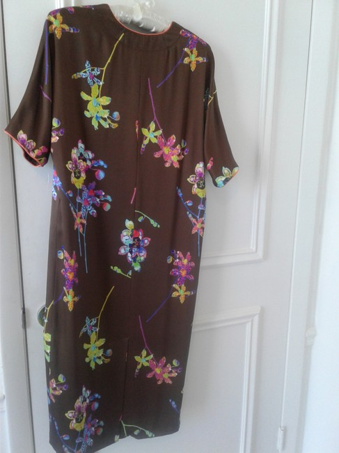 Marc Jacobs short dress brown Silk Fully Lined Midi Lining Silk Made In Usa on Tradesy Image 3