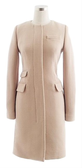 Preload https://img-static.tradesy.com/item/25463362/jcrew-tan-double-cloth-coat-size-12-l-0-1-650-650.jpg