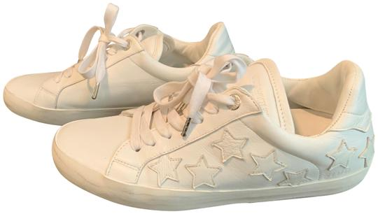Zadig & Voltaire Stars Sneaker Leather Sneaker white Athletic Image 1