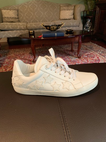 Zadig & Voltaire Stars Sneaker Leather Sneaker white Athletic Image 8