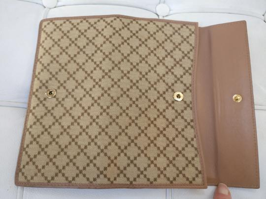 Gucci Gg Supreme Wallet Monogram Clutch Image 2