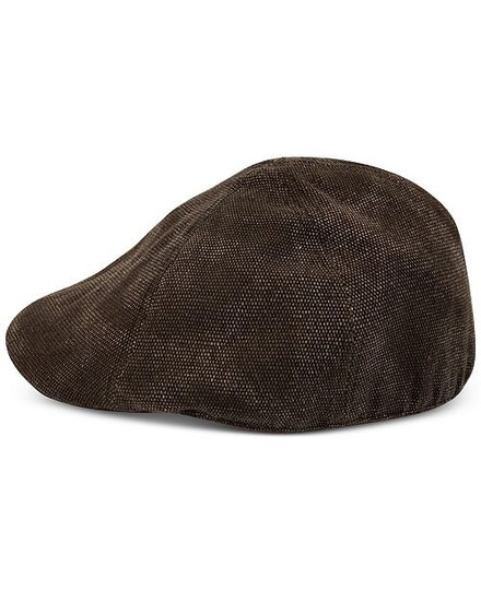 Sean John Men's Fitted Canvas Ivy Hat Image 2