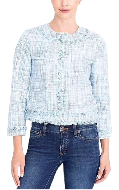 Preload https://img-static.tradesy.com/item/25463431/jcrew-blue-nwt-factory-cropped-jacket-size-6-s-0-3-650-650.jpg