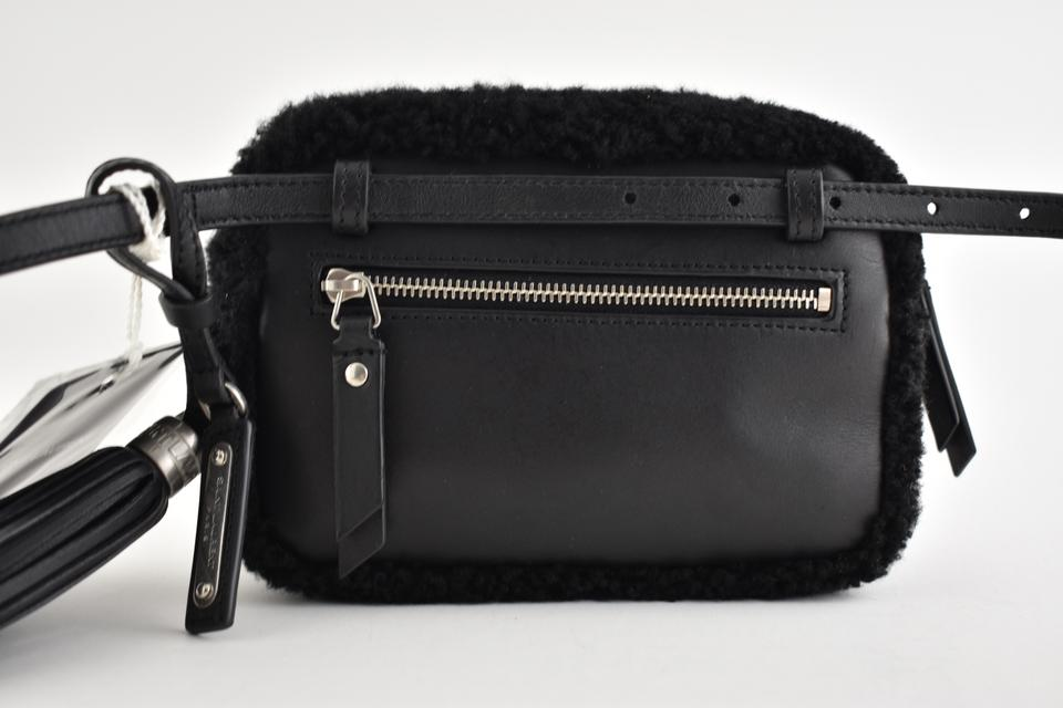 Saint Laurent Camera Ysl Fur Monogram Logo Lou Hip Belt