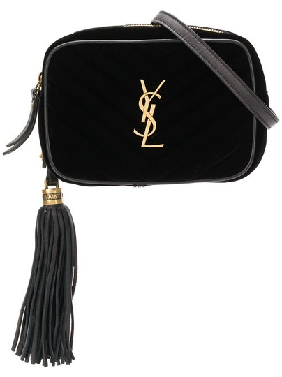 Saint Laurent Camera Ysl Quilted Logo Gold Monogram Hip