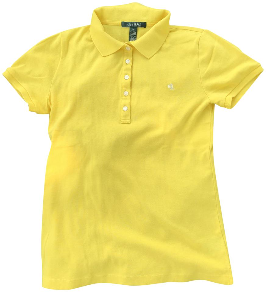 Tee Yellow Monogram T Size 8m Cotton Shirt Ralph Lauren Polo FTcK1Jul3