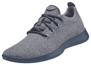 Allbirds Sneakers Lace Up Wool Runners Gray Athletic