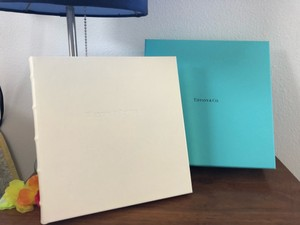 Tiffany & Co. Ivory Leather Bound Journal Other