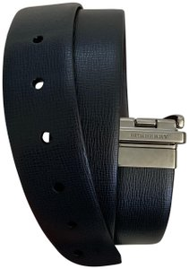 Burberry Mens Reversible Trench Leather Belt