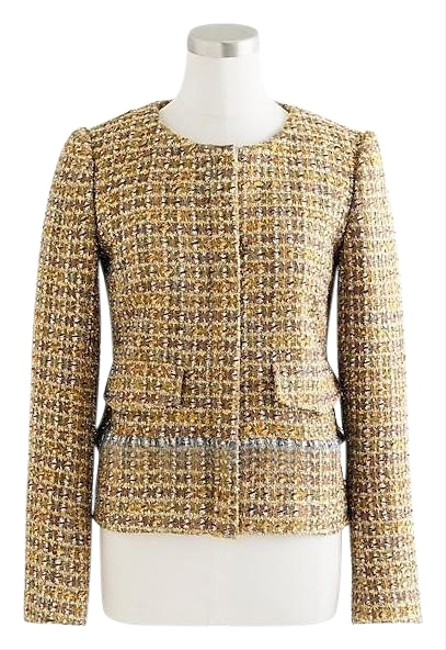 Item - Gold Brown Collection Lady Jacket Size 0 (XS)