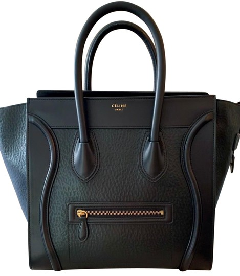Preload https://img-static.tradesy.com/item/25464504/celine-luggage-astrakhan-stamped-mini-black-calfskin-leather-tote-0-5-540-540.jpg