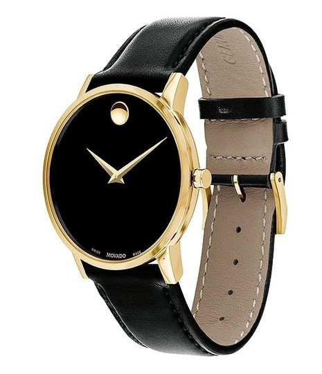 Movado MOVADO Men's Classic Museum Watch NEW IN BOX $650 Image 2
