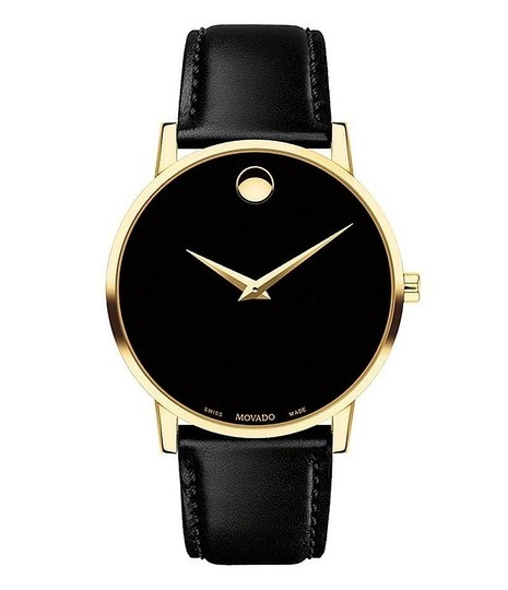 Movado MOVADO Men's Classic Museum Watch NEW IN BOX $650 Image 3